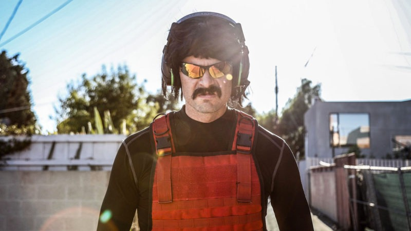 Dr. Disrespect reportedly banned from streaming on Twitch
