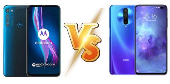 Motorola One Fusion Plus vs Poco X2