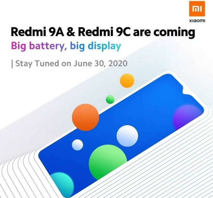Redmi 9A offical render reveals 3 different color options