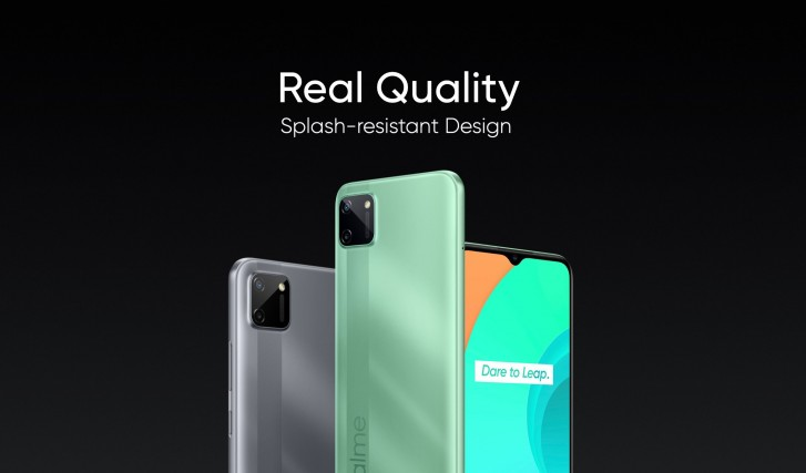 Realme C11 with Helio G35 and 30W Dart Charge launched in India for Rs 7,499