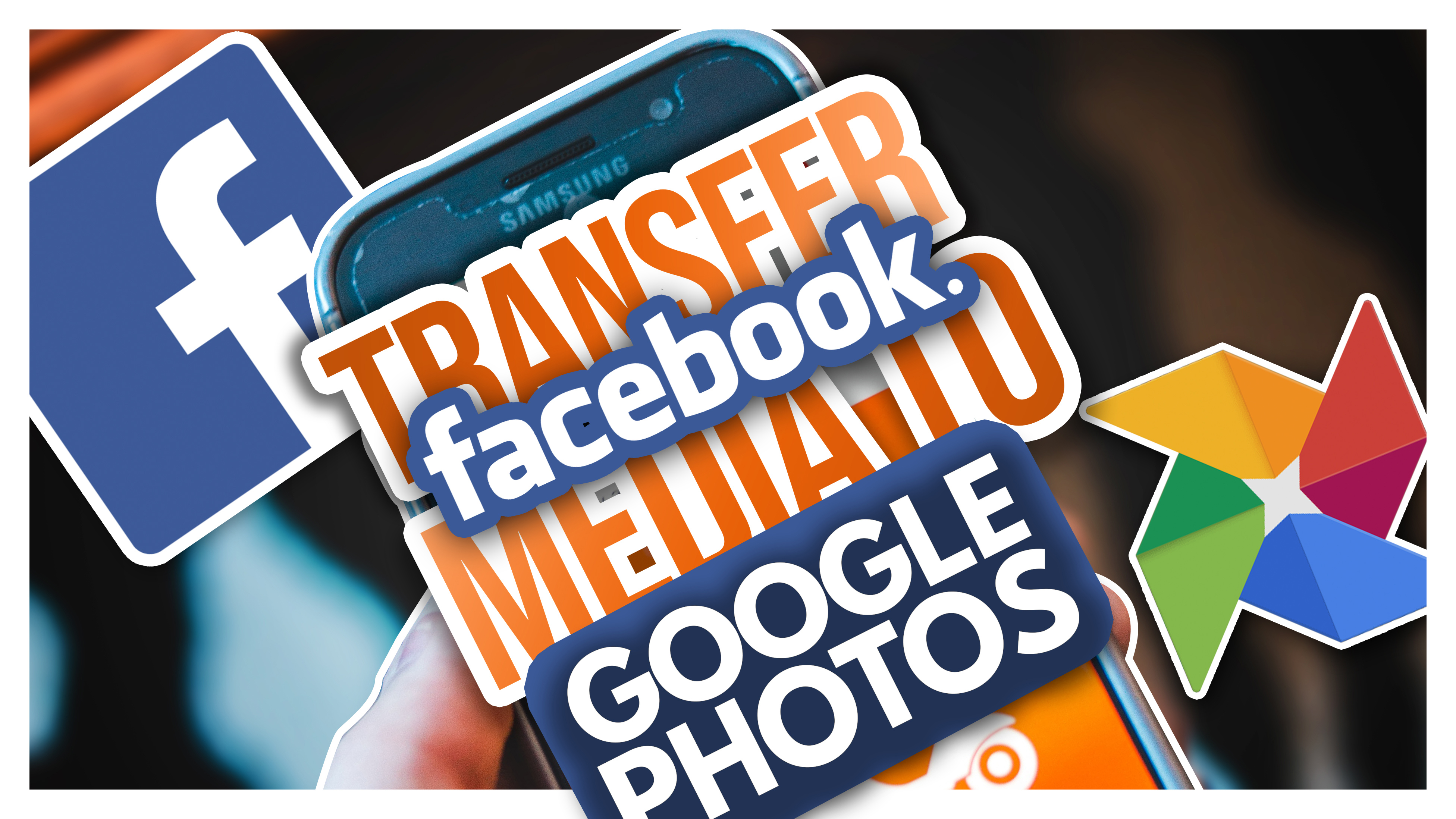 How to Transfer Facebook Photos and Video to Google Photos on Android and iOS in Hindi   Mobile App