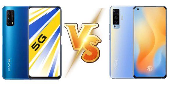 Vivo iQOO 5G vs Vivo X50 5G