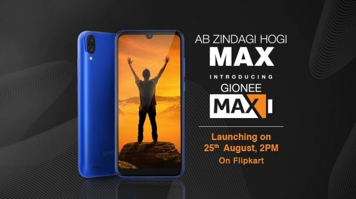 Gionee Max surfaced online with Key Specs and Design ahead of offical launch