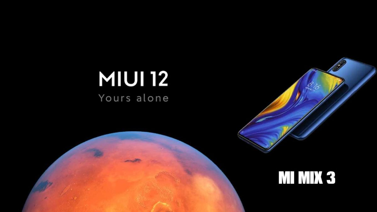 Download and Install Xiaomi Mi Mix 3 Stock Rom (Firmware, Flash File)