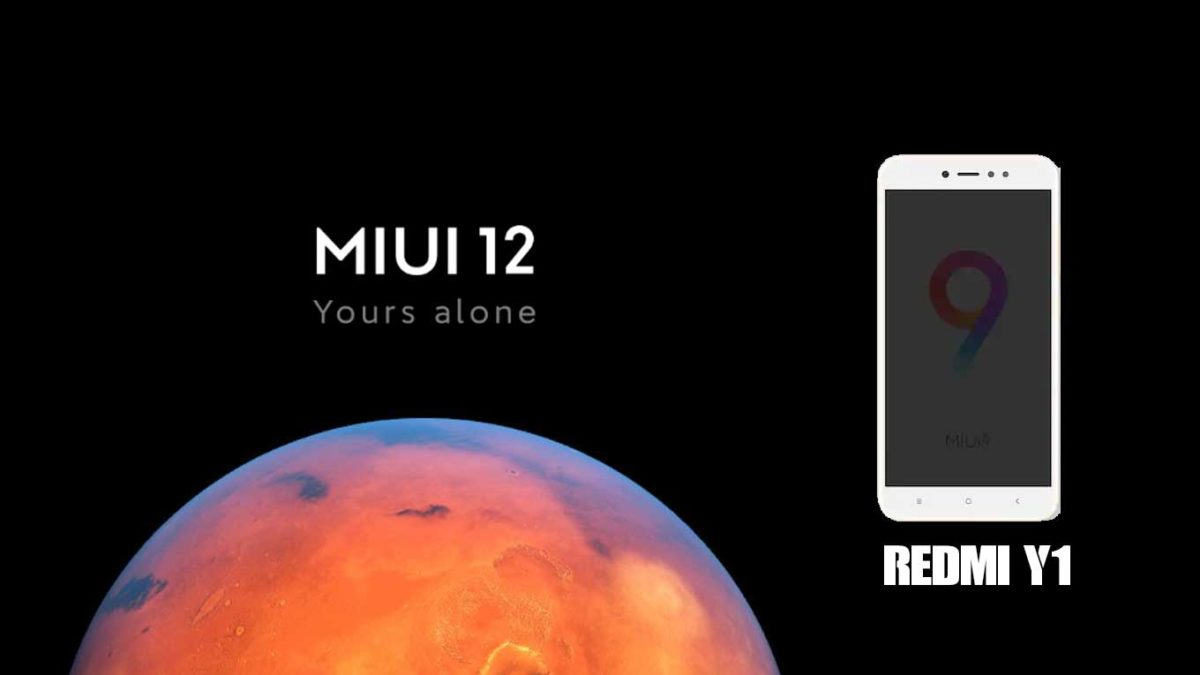 Download and Install Xiaomi Redmi Y1 Stock Rom (Firmware, Flash File)