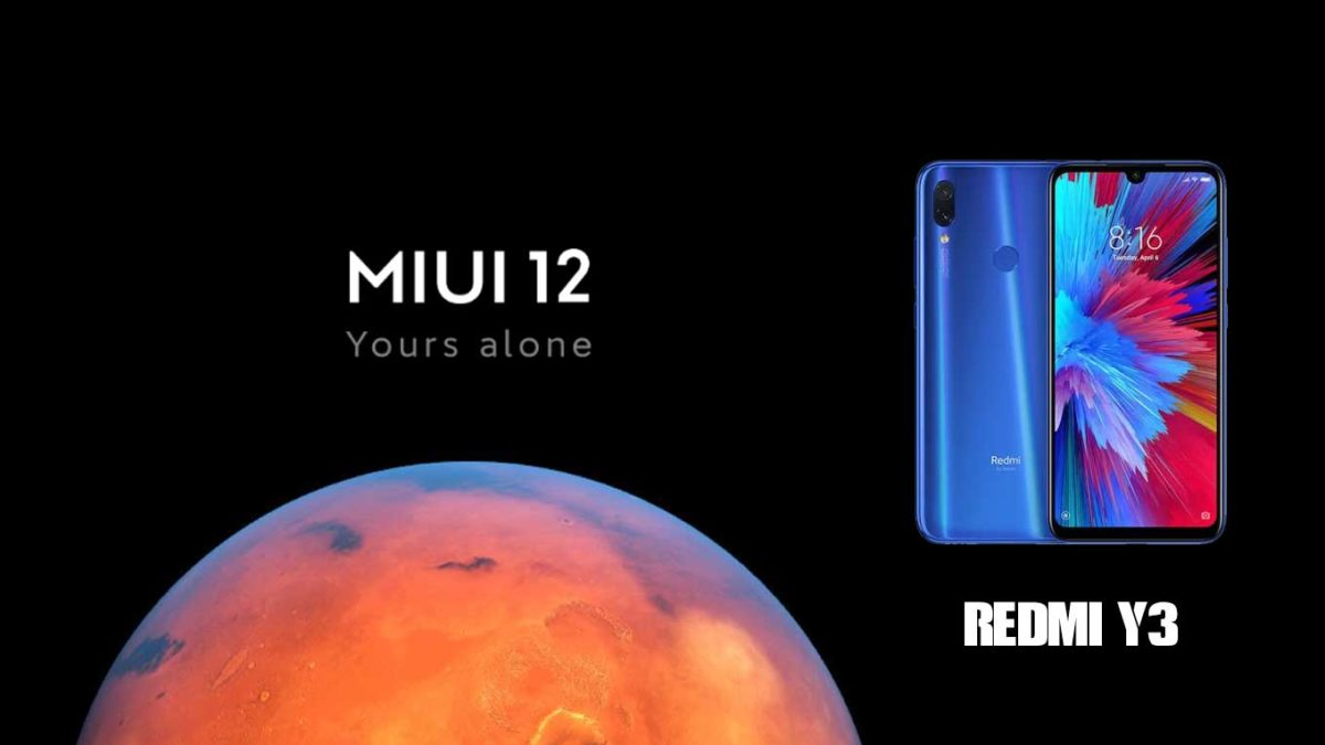 Download and Install Xiaomi Redmi Y3 Stock Rom (Firmware, Flash File)