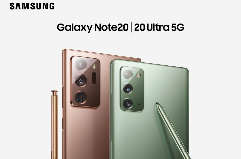 Samsung Galaxy Note20 and Note20 Ultra launched -Key Specification