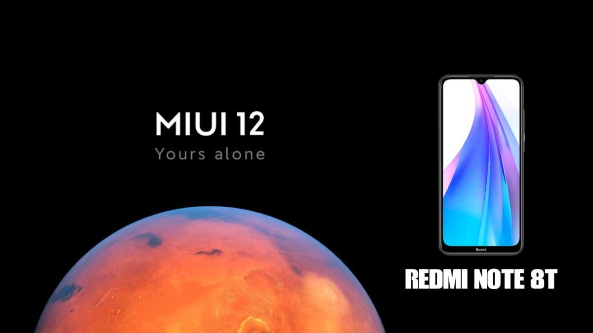 Download and Install Xiaomi Redmi Note 8T Stock Rom (Firmware, Flash File)