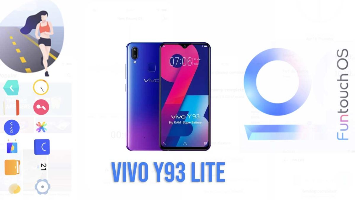 Download and Install Vivo Y93 Lite PD1818F Stock Rom (Firmware, Flash File)
