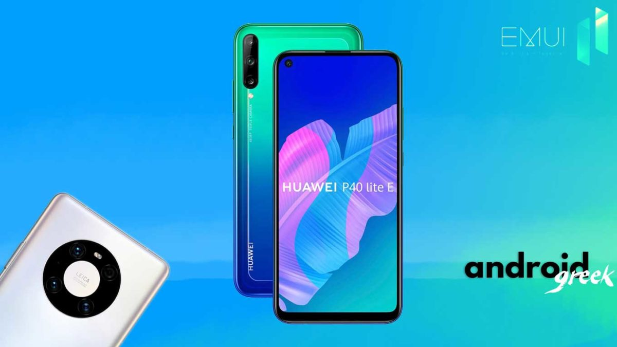 Download and Install Huawei P40 Lite E Arthur-L29 Stock Rom (Firmware, Flash File)