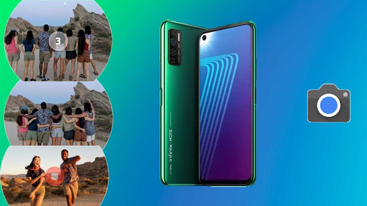 How do I install Google camera on Infinix Note 7 Lite [GCam APK]- Google Camera port for Infinix Note 7 Lite without root