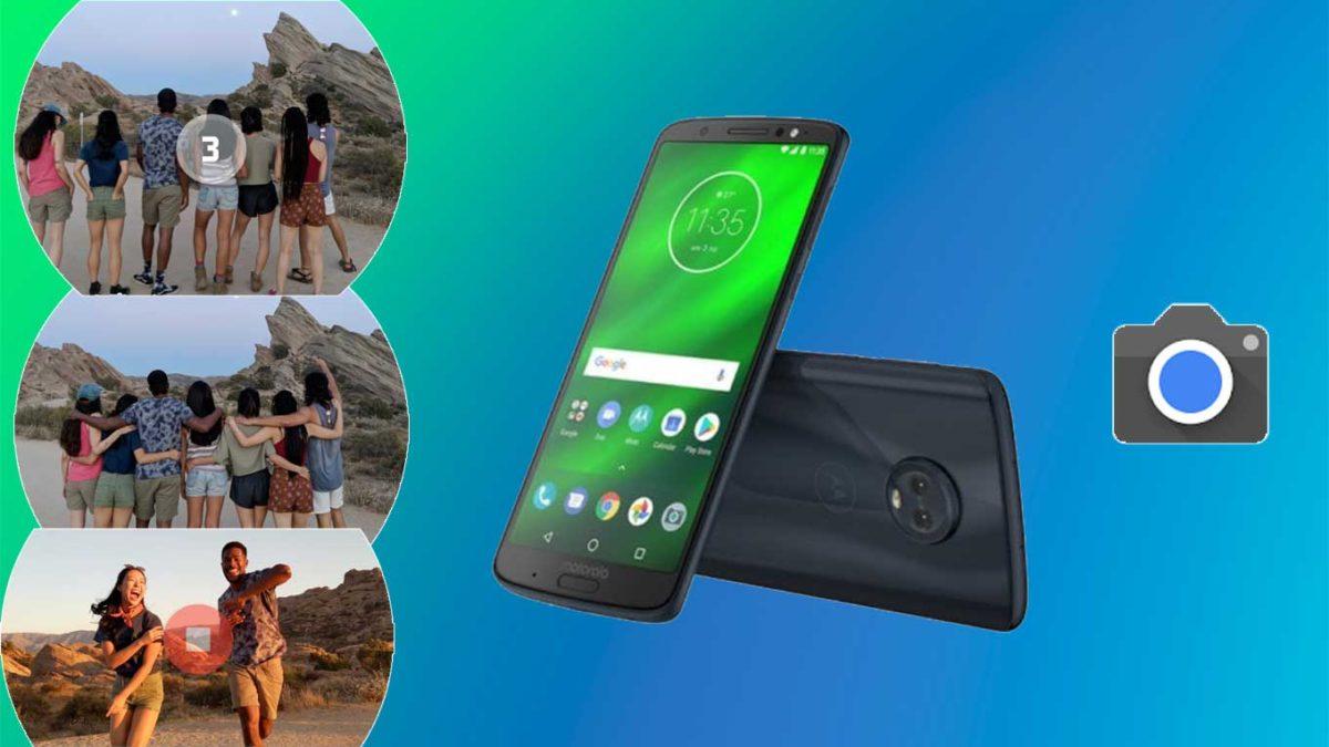 How do I install Google camera on Moto G6 Plus [GCam APK]- Google Camera port for Moto G6 Plus without root