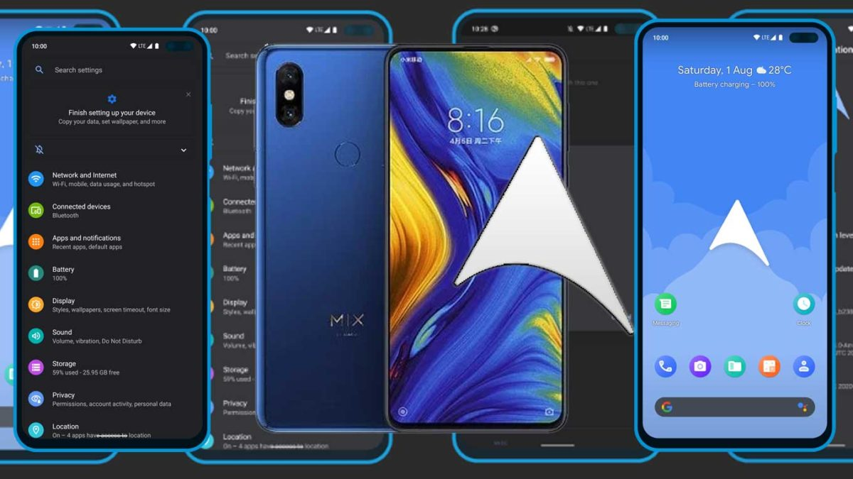 How to Download and Install ArrowOS 11 on Mi Mix 3 (Android 11)