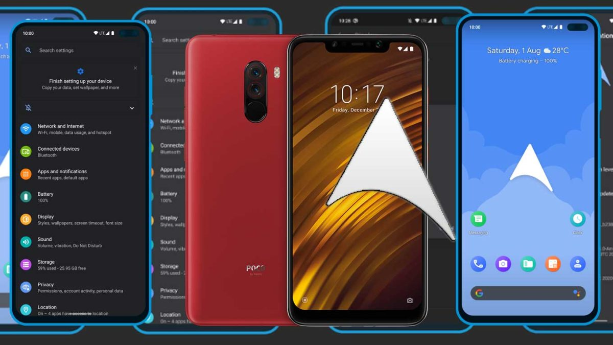 How to Download and Install ArrowOS 11 on Poco F1 (Android 11)