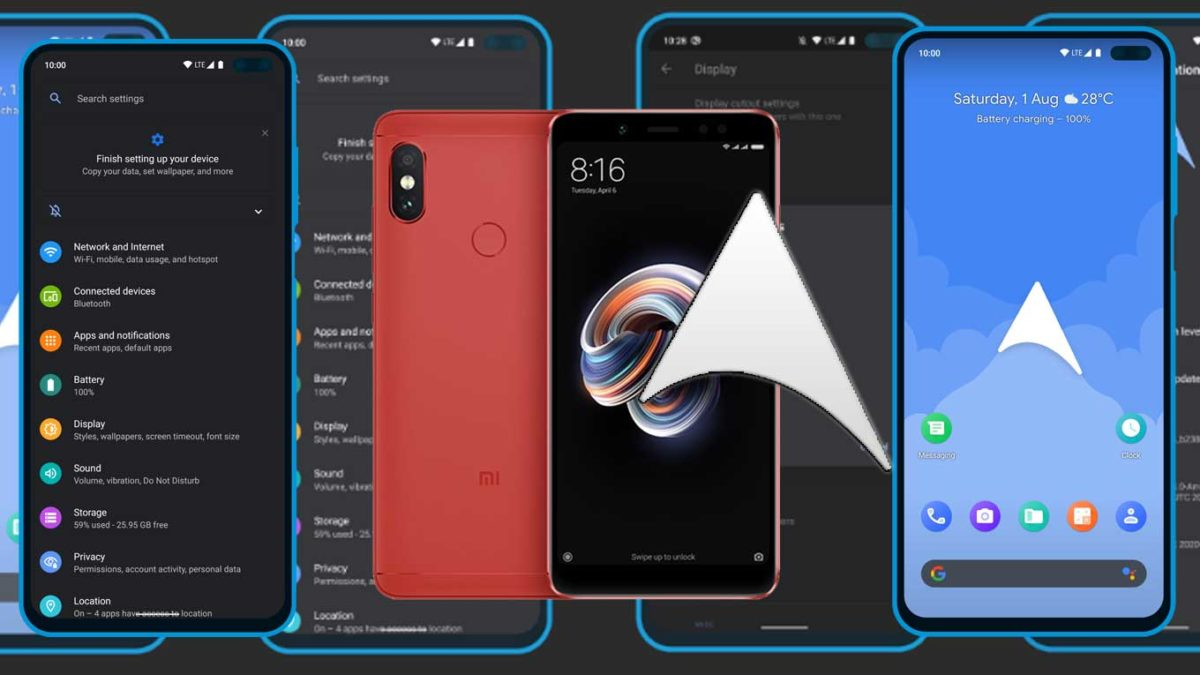 How to Download and Install ArrowOS 11 on Redmi Note 5 (Android 11)