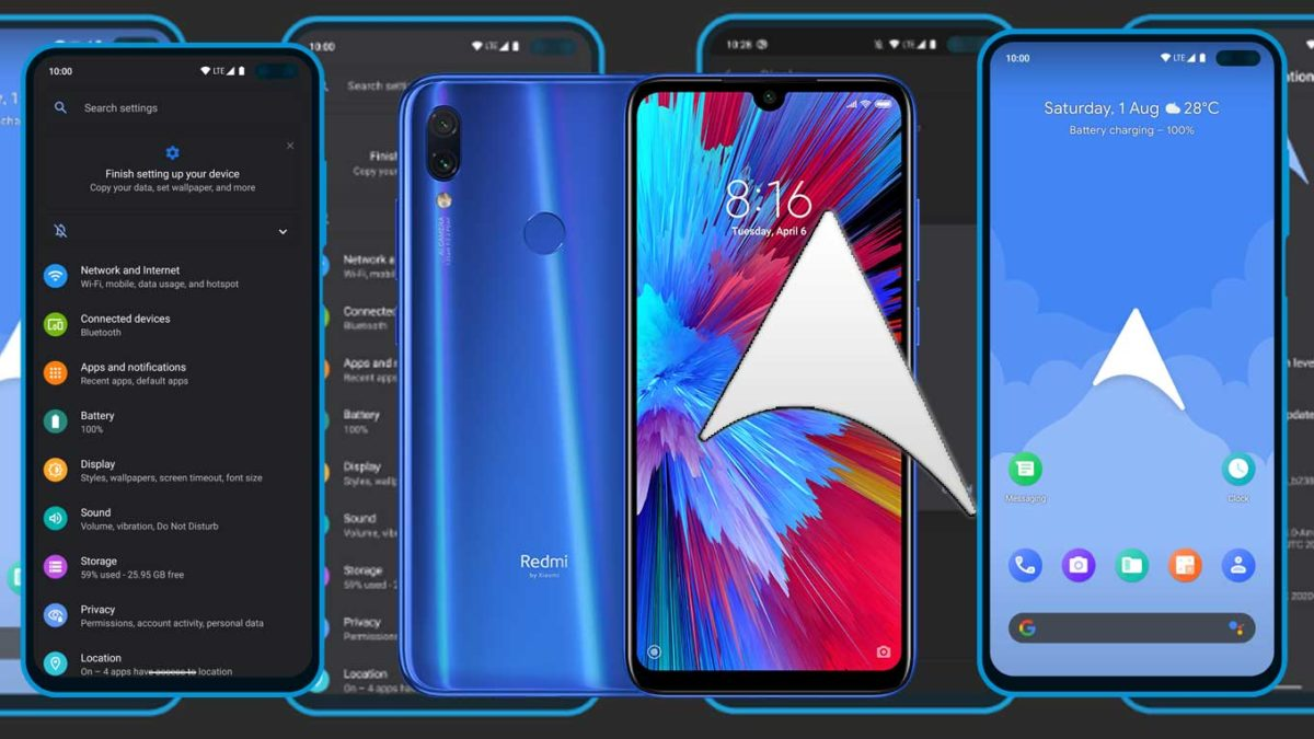 How to Download and Install ArrowOS 11 on Redmi Note 7 (Android 11)