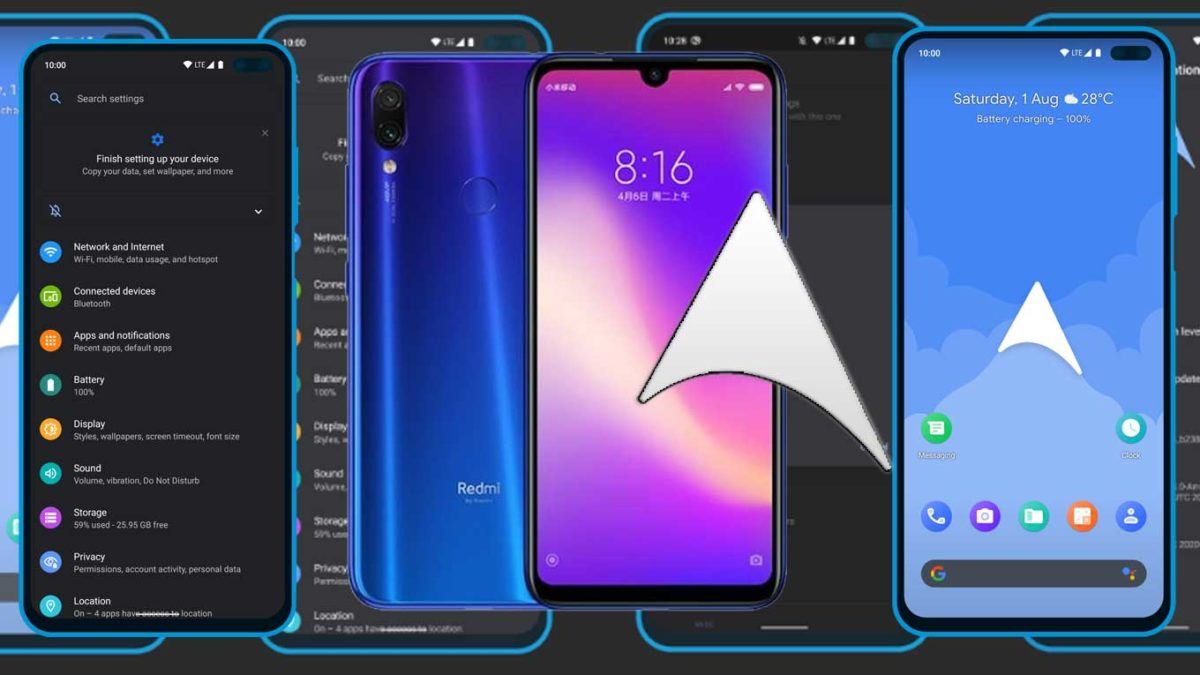How to Download and Install ArrowOS 11 on Redmi Note 7 Pro (Android 11)