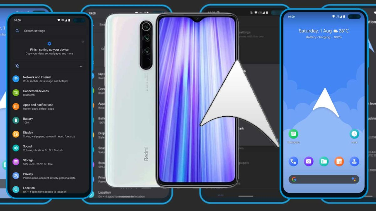 How to Download and Install ArrowOS 11 on Xiaomi Sm6250 (Android 11)