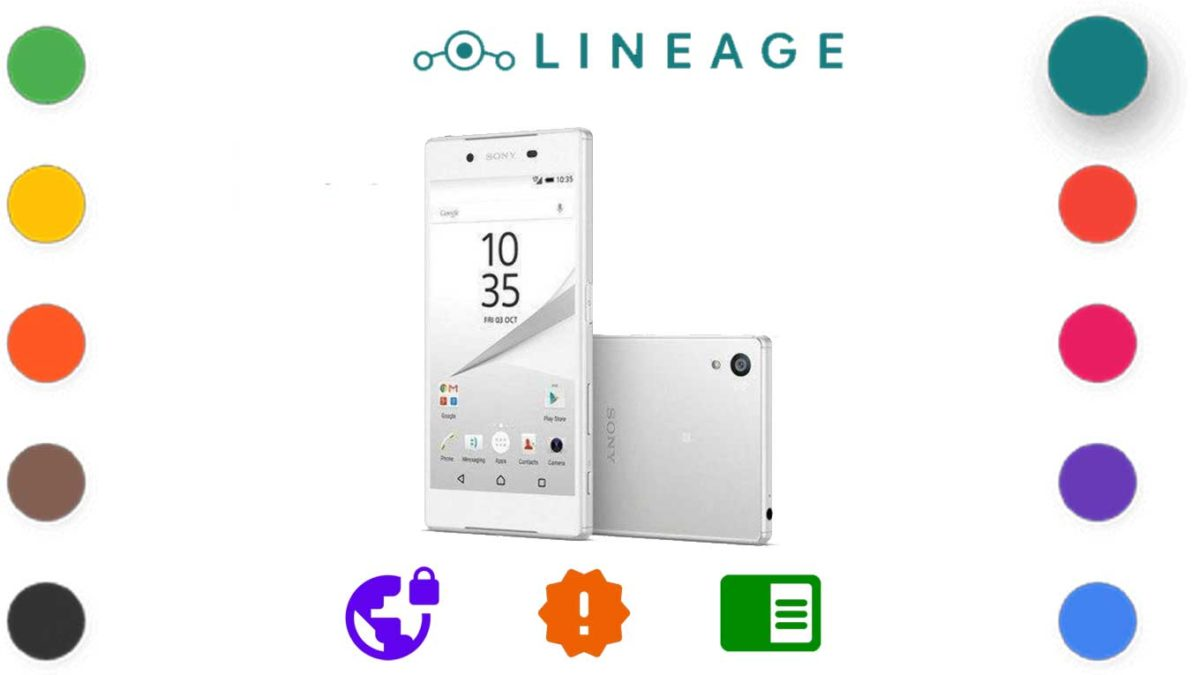 How to Download and Install LineageOS 18.0 for Xperia Z5 [Android 11, UNOFFICIAL – ALPHA]