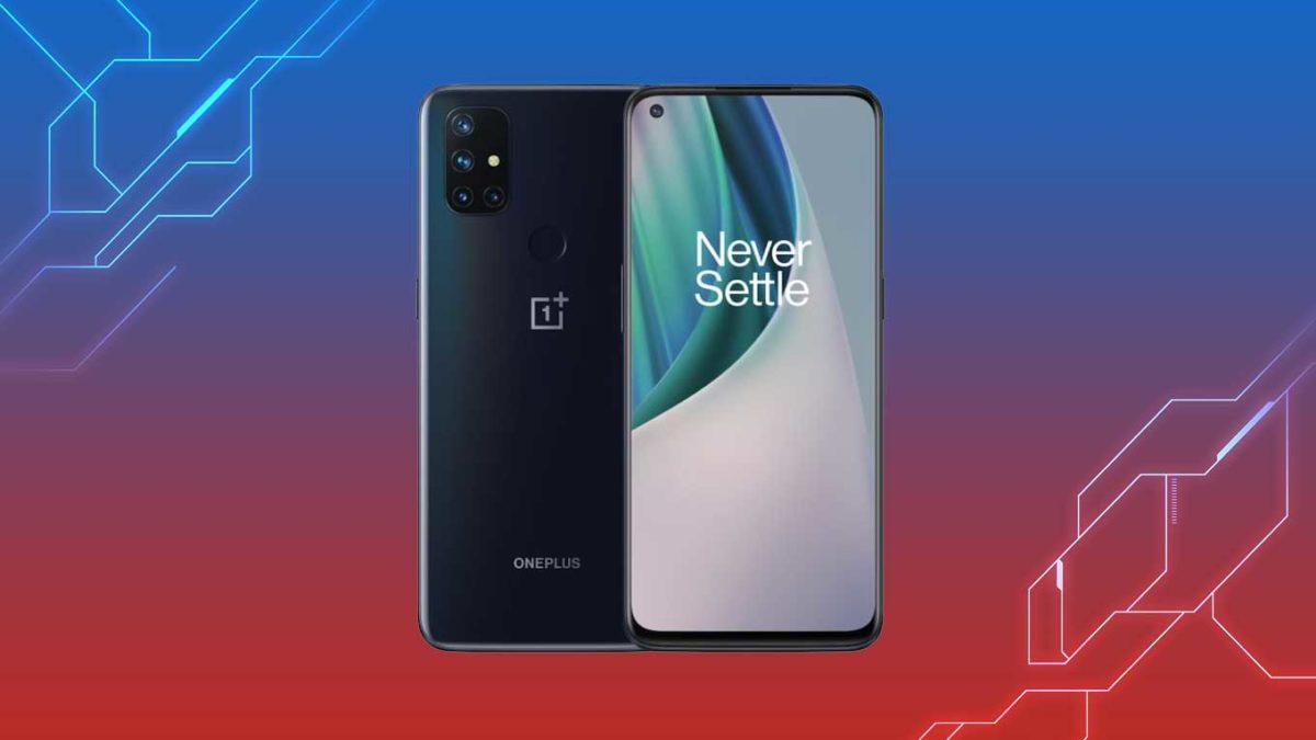 Download OnePlus Nord N100 Stock Wallpaper on any Android device [FHD+ Quality]