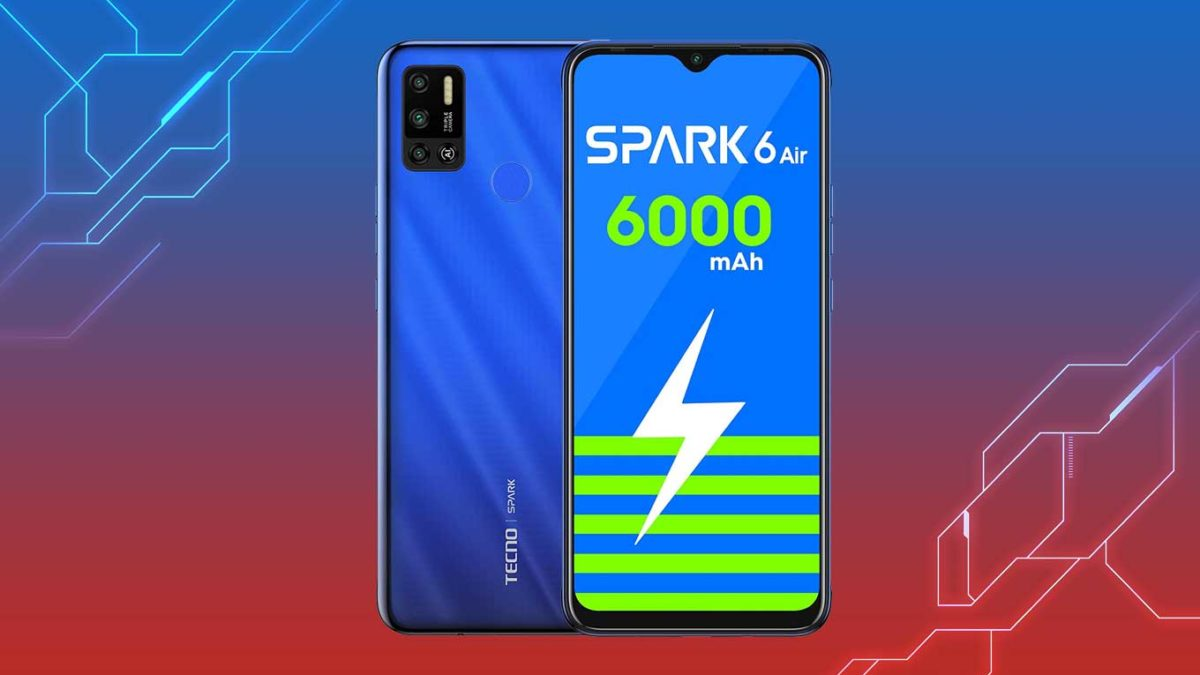 Download Tecno Spark 6 Air Stock Wallpaper on any Android device [FHD+ Quality]