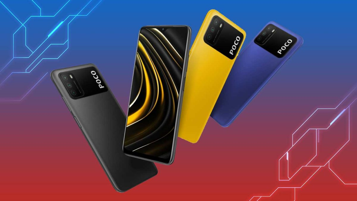 Download Xiaomi Poco M3 Stock Wallpaper on any Android device [FHD+ Quality]
