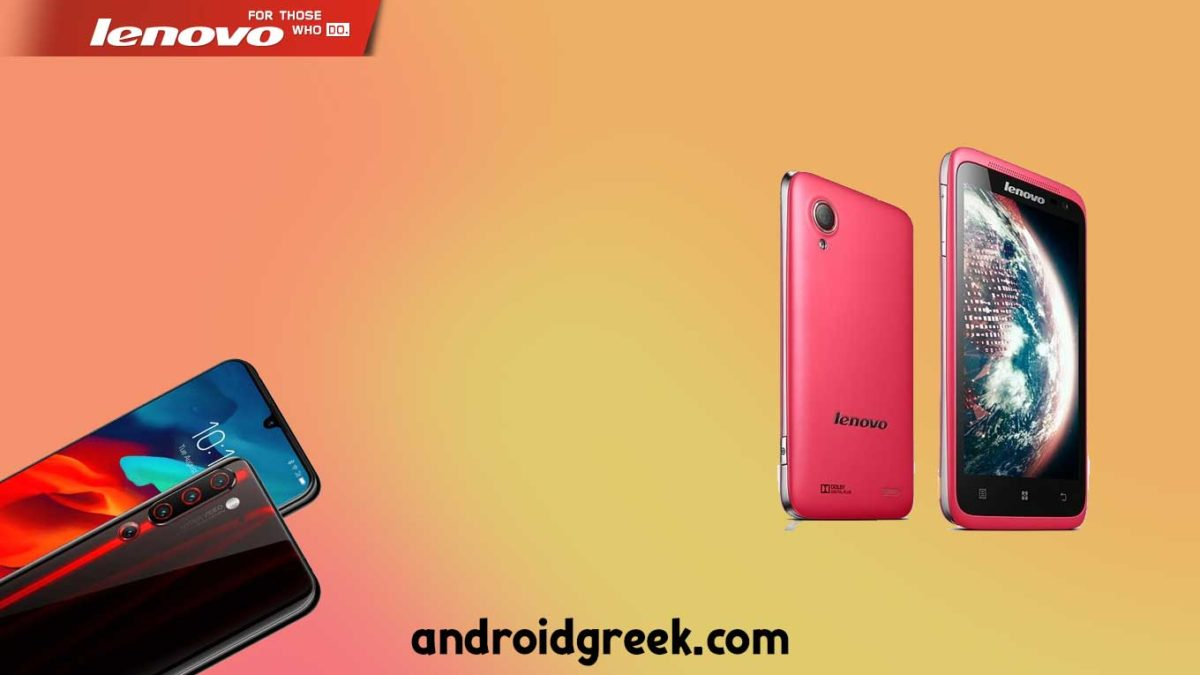 Download and Install Lenovo S720i Stock Rom (Firmware, Flash File)
