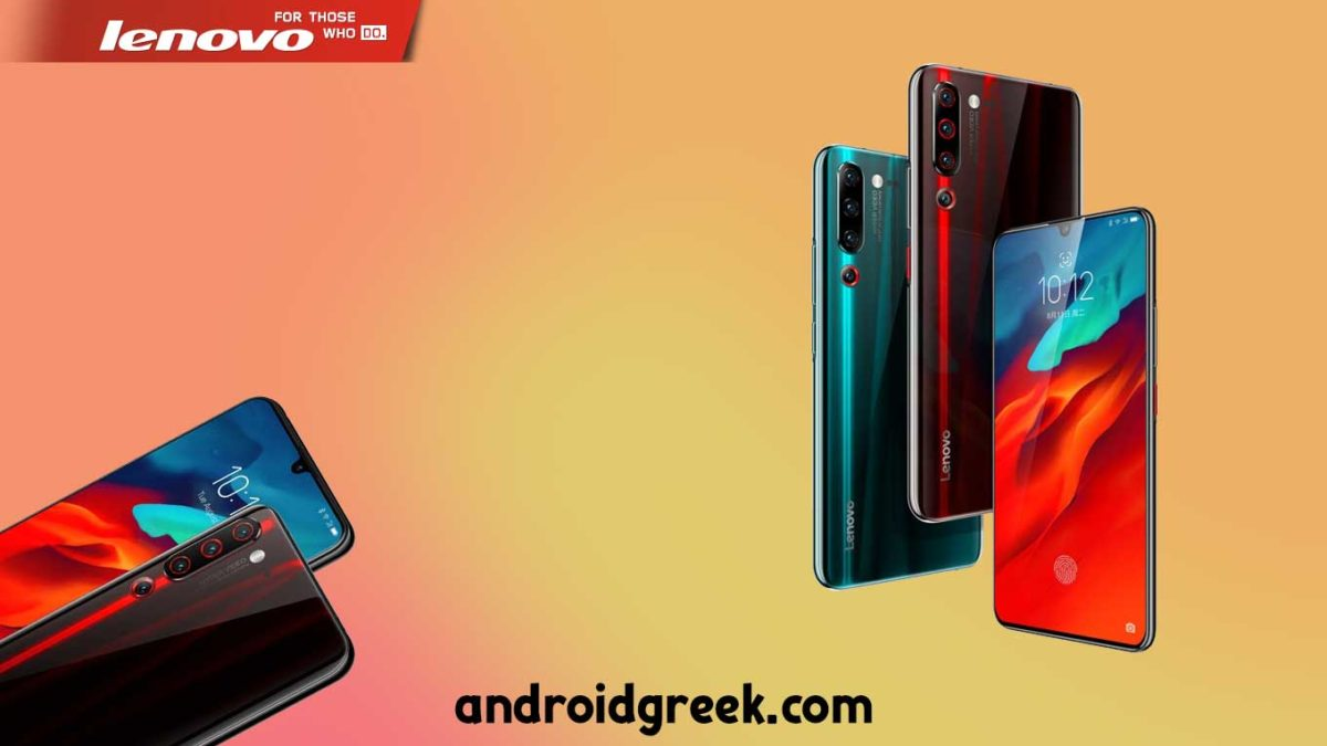 Download and Install Lenovo Z6 Pro L78051 Stock Rom (Firmware, Flash File)