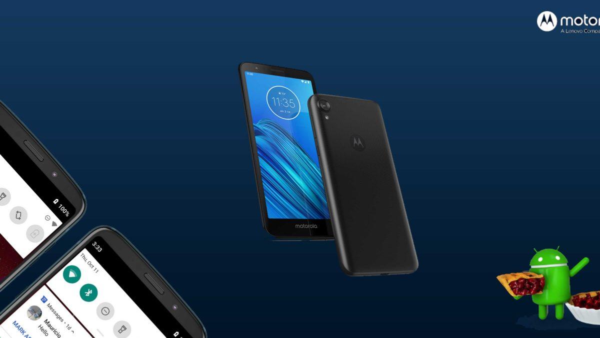 Download and Install Motorola Moto E6 XT2005 Stock Rom (Firmware, Flash File)