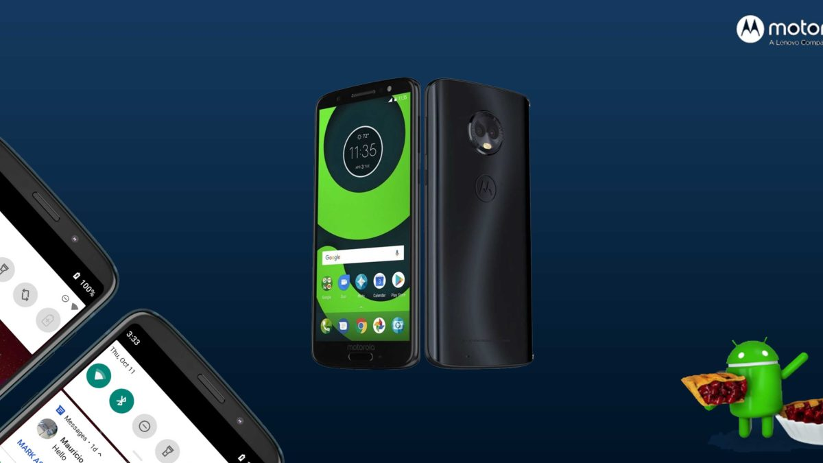 Download and Install Motorola Moto G6 Plus XT1926-9 Stock Rom (Firmware, Flash File)