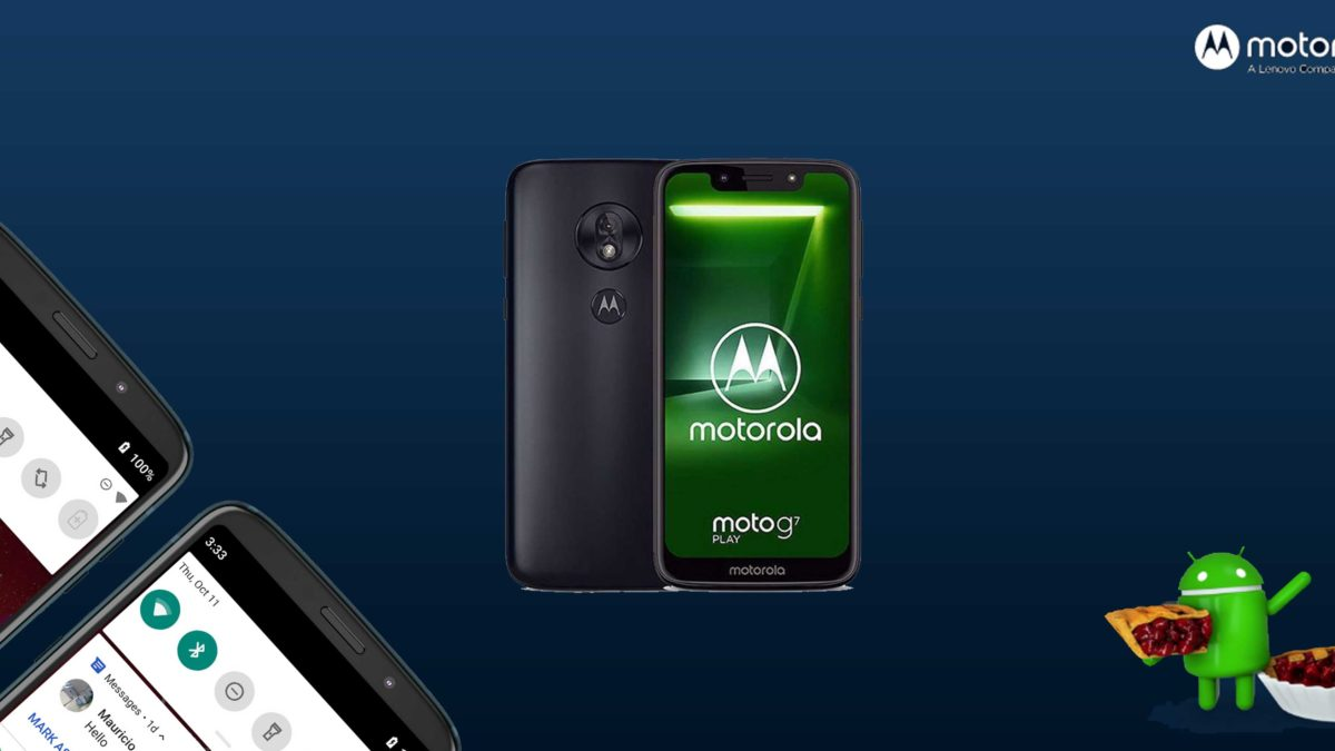 Download and Install Motorola Moto G7 Play XT1952-1 Stock Rom (Firmware, Flash File)