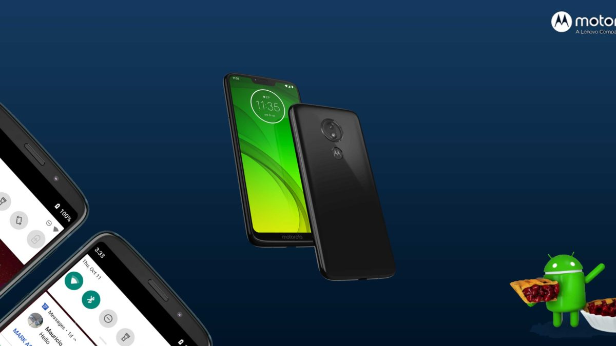 Download and Install Motorola Moto G7 Power XT1955-4-DS Stock Rom (Firmware, Flash File)