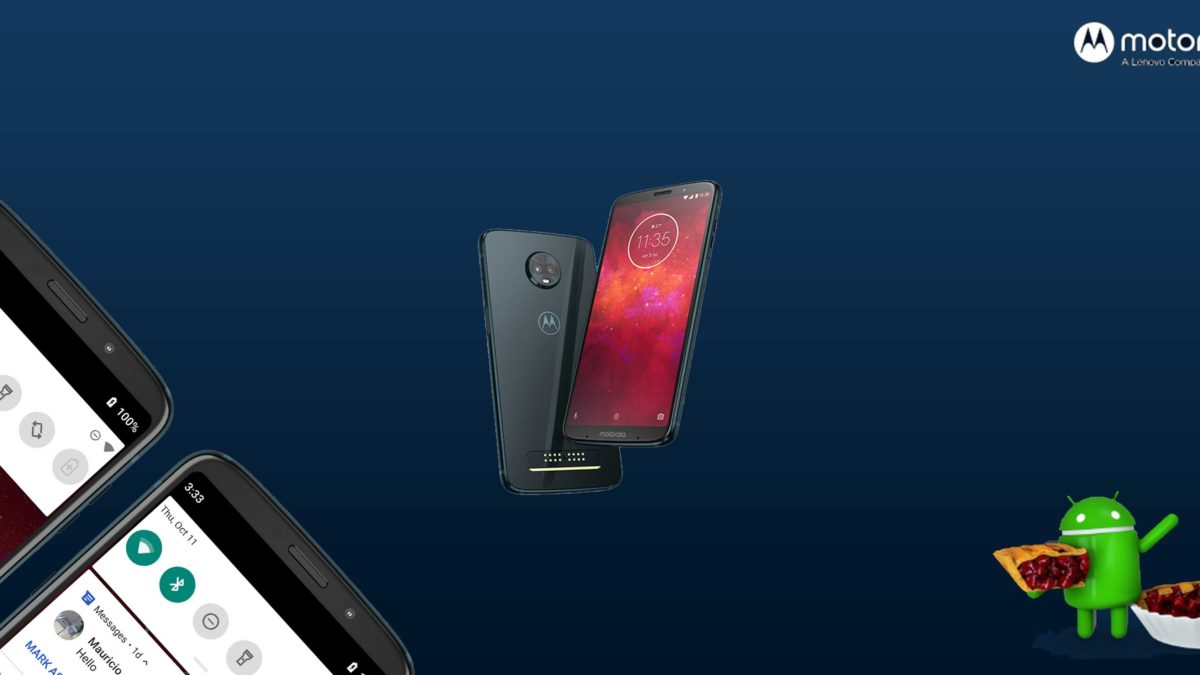 Download and Install Motorola Moto Z3 Play XT1929-8 Stock Rom (Firmware, Flash File)