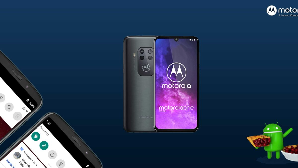 Download and Install Motorola One Zoom XT2010-1 Stock Rom (Firmware, Flash File)