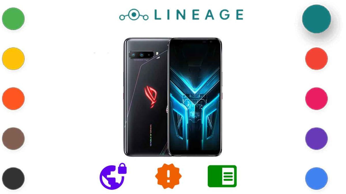 Download and Install Lineage OS 18.1 for ASUS ROG Phone 3 (I003) [Android 11]