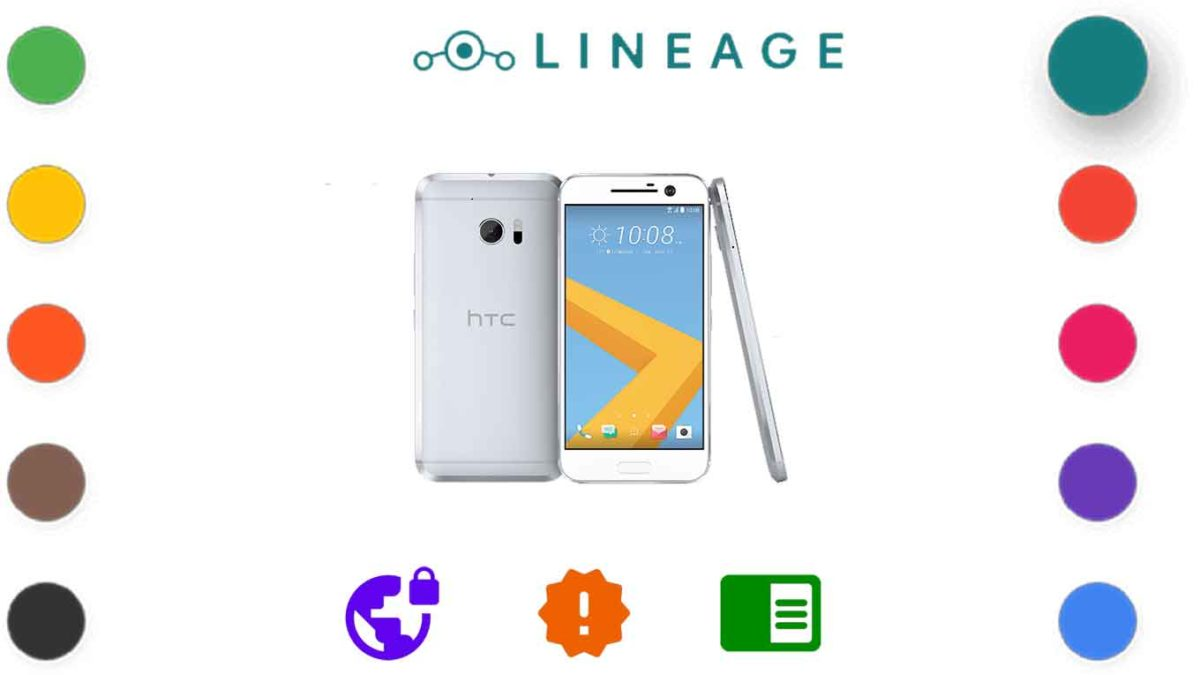 Download and Install Lineage OS 18.1 for HTC 10 (pme) [Android 11]