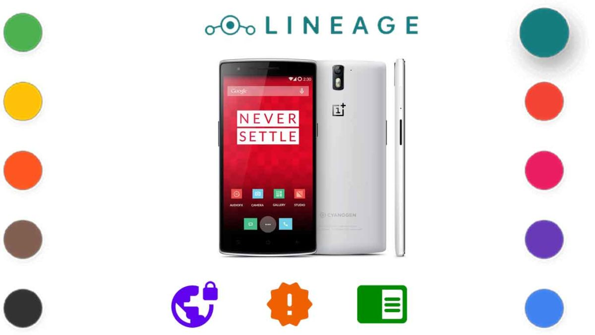 Download and Install Lineage OS 18.1 for OnePlus One [Android 11]