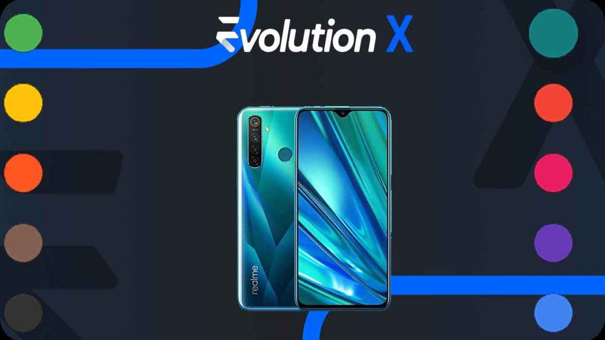 How to Download and Install Evolution X 5.1 on Realme 5 Pro [Android 11]
