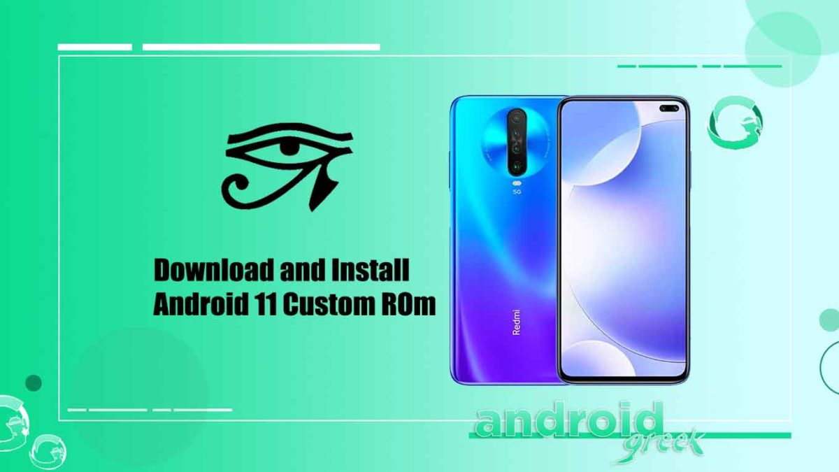 How to Download and Install crDroid OS 7.1 on Redmi K30 5G [Android 11]