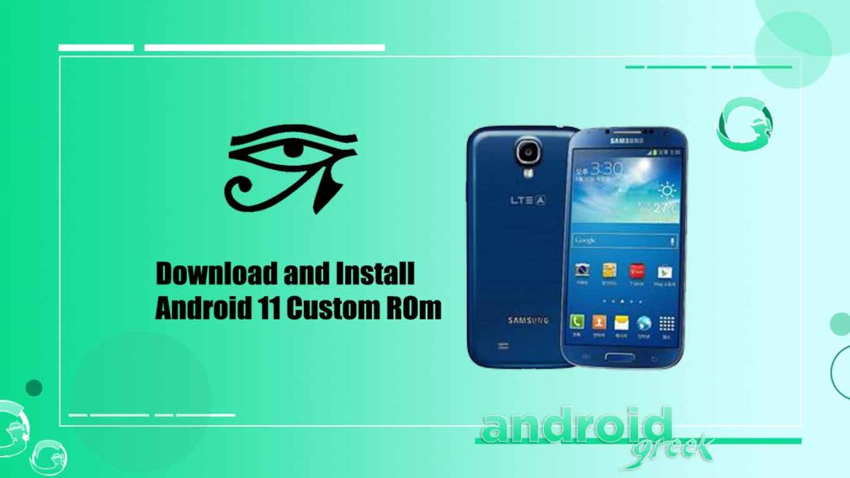 How to Download and Install crDroid OS 7.1 on Samsung Galaxy S4 LTE Advanced (ks01lte) [Android 11]