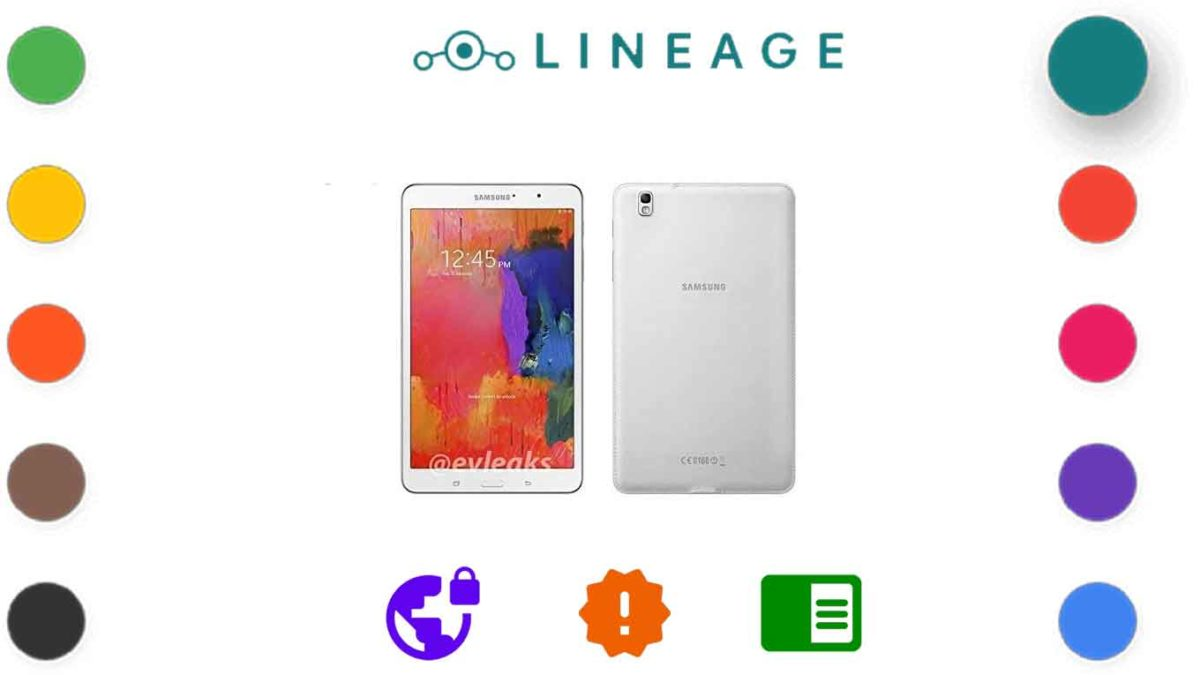 Download and Install Lineage OS 18.1 for Samsung Galaxy Tab Pro 8.4 [Android 11]