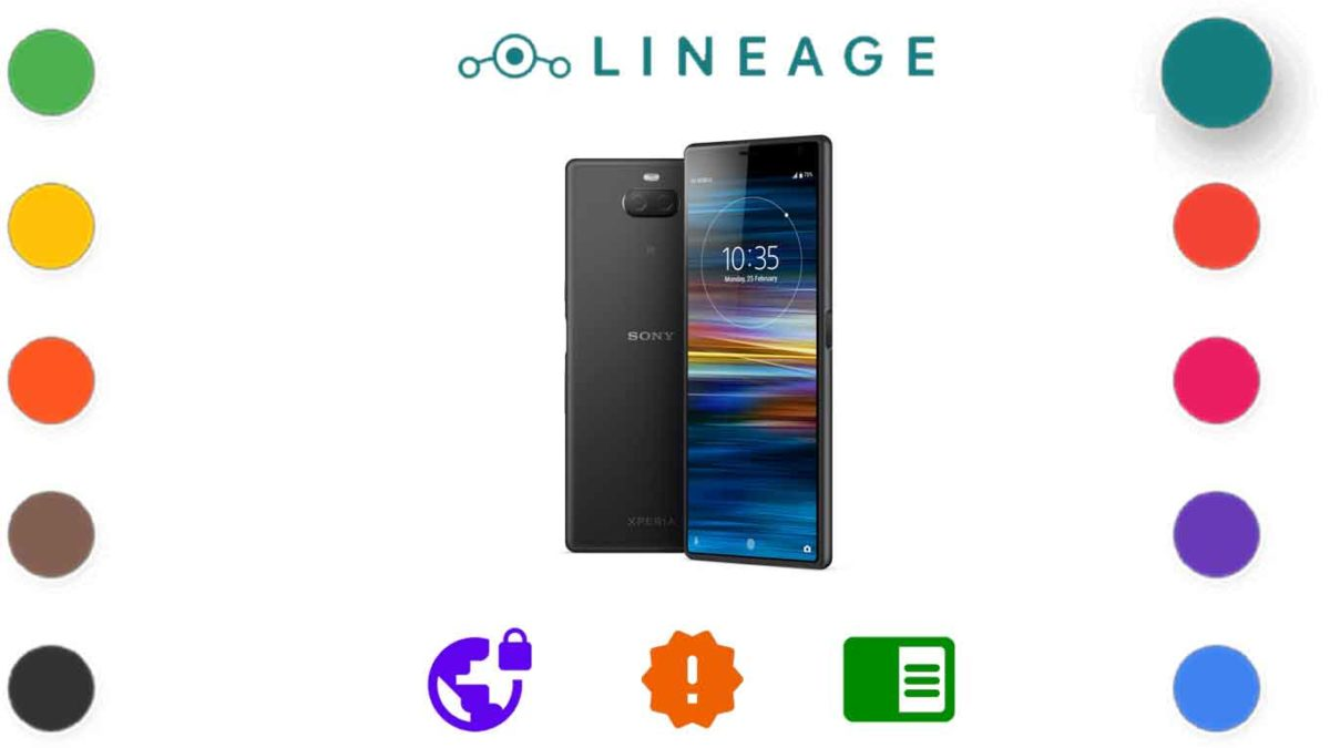 Download and Install Lineage OS 18.1 for Sony Xperia 10 Plus [Android 11]