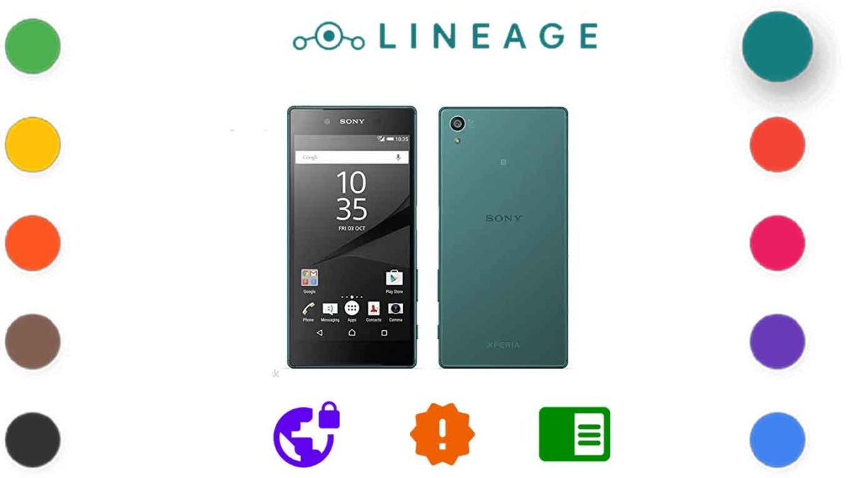 Download and Install Lineage OS 18.1 for Sony Xperia Z5 [Android 11]