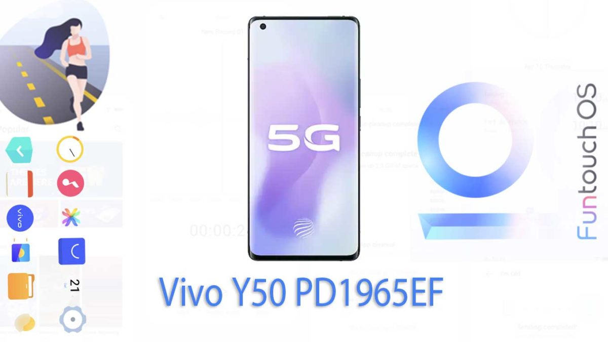 Download and Install Vivo Y50 PD1965EF Stock Rom (Firmware, Flash File)