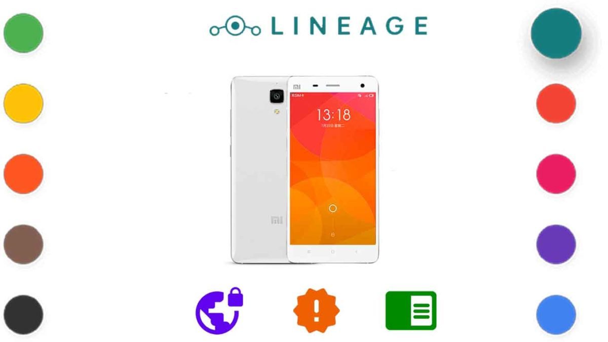 Download and Install Lineage OS 18.1 for Xiaomi Mi 4 [Android 11]