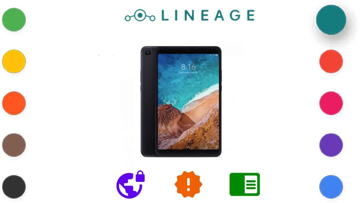 Download and Install Lineage OS 18.1 for Xiaomi Mi Pad 4/ 4 Plus [Android 11]