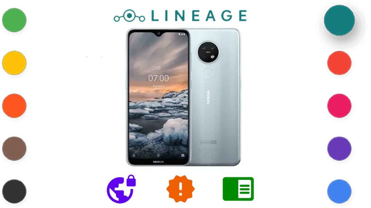 Download and Install Lineage OS 18.1 for Nokia 7.2 (ddv_sprout) [Android 11]