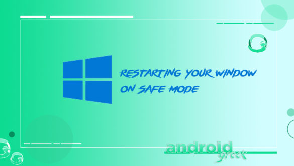 boot Safe Mode in Window 10