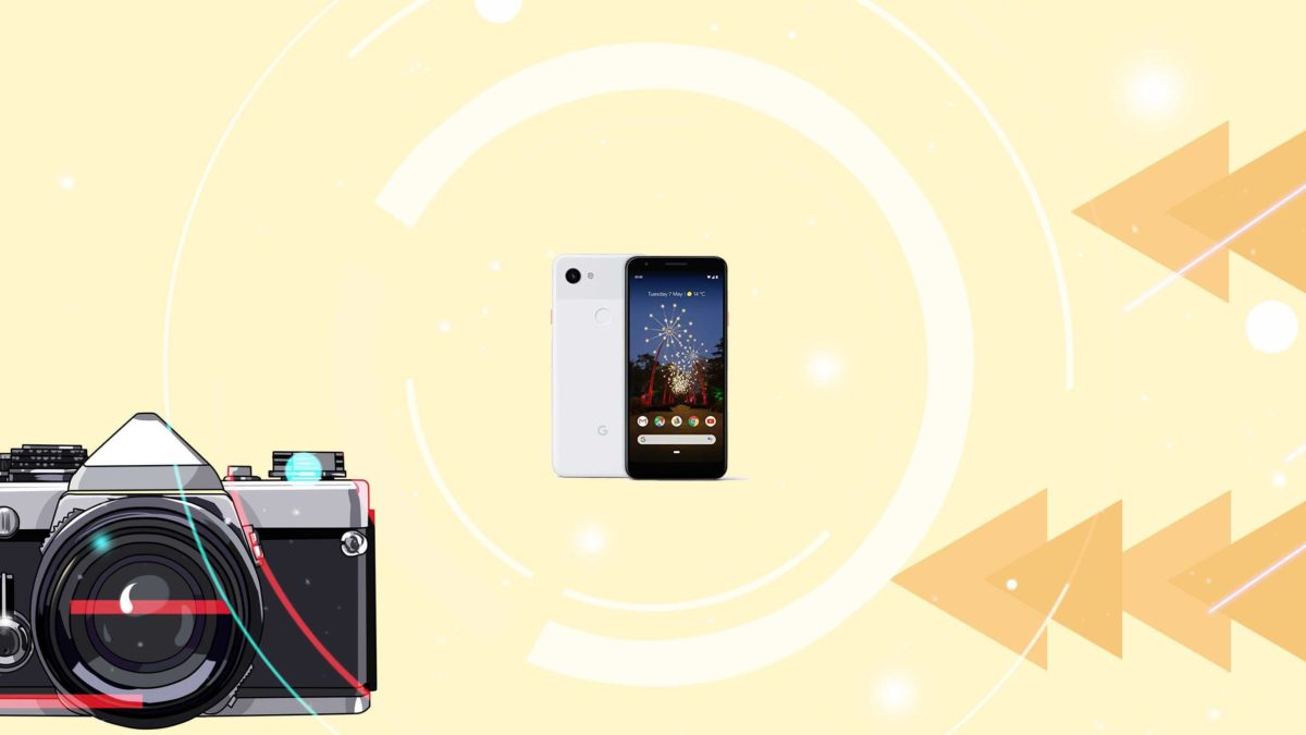 Download and Install Google camera on Google Pixel 3a [GCam APK]- Google Camera port for Google Pixel 3a without root