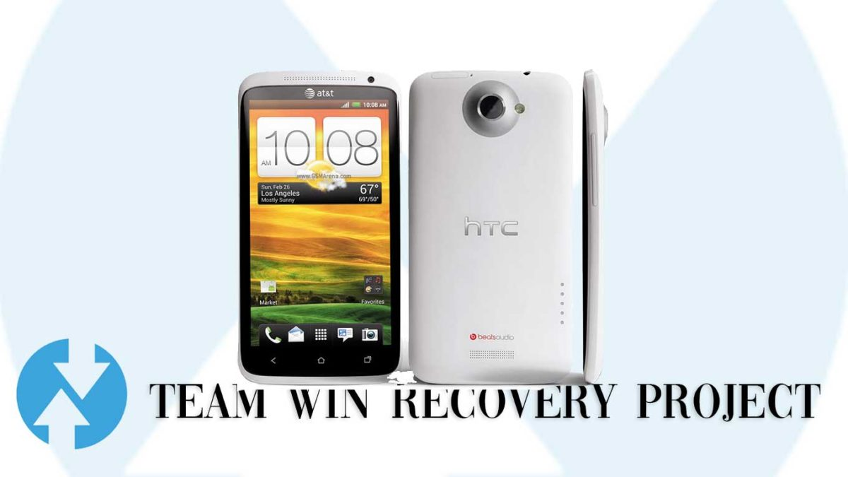 Download and Install TWRP Recovery on HTC One X+ AT&T   Guide